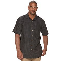 Big & Tall Batik Bay Classic-Fit Woven Button-Down Shirt