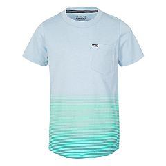 Boys 4-7 Hurley Ombre Striped Graphic Tee