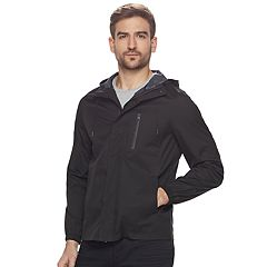 Men's Marc Anthony Slim-Fit Hooded Rain Jacket