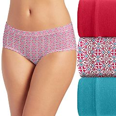 Women's Jockey Cotton Stretch 3-pack Hipster Panties 1551
