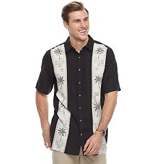 Men's Batik Bay Classic-Fit Tropical Palm Tree Button-Down Shirt
