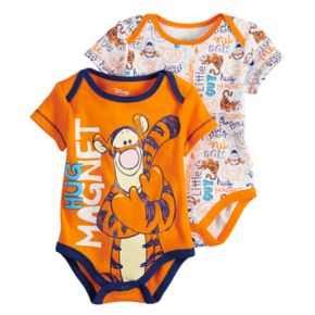 "Disney's Tigger Baby Boy 2-Pack ""Hug Magnet"" Bodysuit Set"