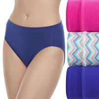 Women's Jockey Cotton Stretch 3-pack Hi-Cut Panties 1552