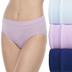 Women's Jockey Cotton Stretch 3-pack Hi-Cut Panties 1552