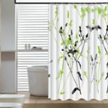 Elegant Home Fashions Wild Garden Shower Curtain