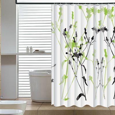 Elegant Home Fashions Wild Garden Shower Curtain