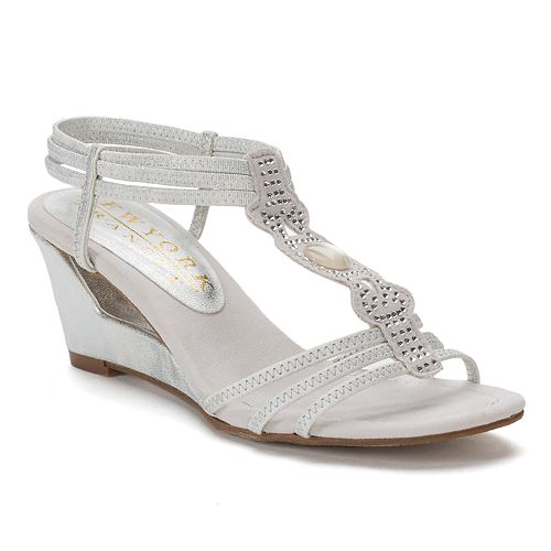 New York Transit Fancy Move Women's Wedge Sandals