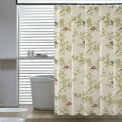 Elegant Home Fashions Birds Shower Curtain