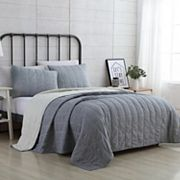 VCNY Faith Reversible Quilt Set