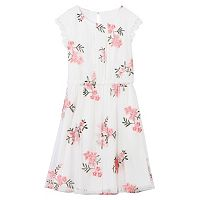 Girls 7-16 Speechless Embroidered Mesh Floral Dress