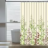 Elegant Home Fashions Leaf Vine Shower Curtain