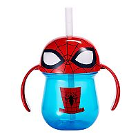 The First Years Marvel Spider-Man Straw Trainer Cup