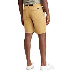Men's Chaps Classic-Fit Stretch Belted Cargo Shorts