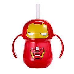 The First Years Marvel Iron Man Straw Trainer Cup