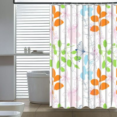 Elegant Home Fashions Floral Shower Curtain
