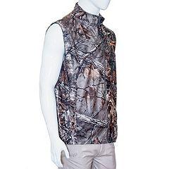 Men's Earthletics Camo Bonded Microfleece Vest