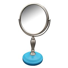 Elegant Home Fashions Fair Lady Freestanding Magnifying Bath Makeup Mirror