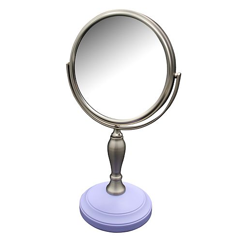 Elegant Home Fashions Fair Lady Freestanding Magnifying Bath Makeup Mirror