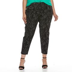 Plus Size Apt. 9® Ankle Pants