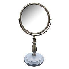 Elegant Home Fashions Briggs Freestanding Magnifying Bath Makeup Mirror