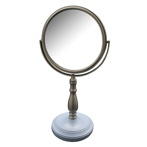 Elegant Home Fashions Briggs Freestanding Magnifying Bath Makeup Mirror