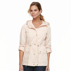 Women's Weathercast Hooded Roll-Tab Anorak Jacket