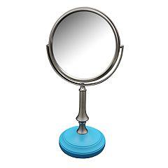 Elegant Home Fashions Simplicity Freestanding Magnifying Bath Makeup Mirror