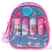 Girls 4-16 JoJo Siwa 4 pkLip Balms & Mini Backpack Carrying Case Set