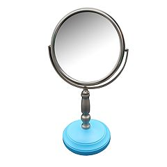 Elegant Home Fashions Dexter Freestanding Magnifying Bath Makeup Mirror