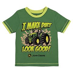 Baby Boy John Deere 'I Make Dirt Look Good!' Tractor Graphic Tee