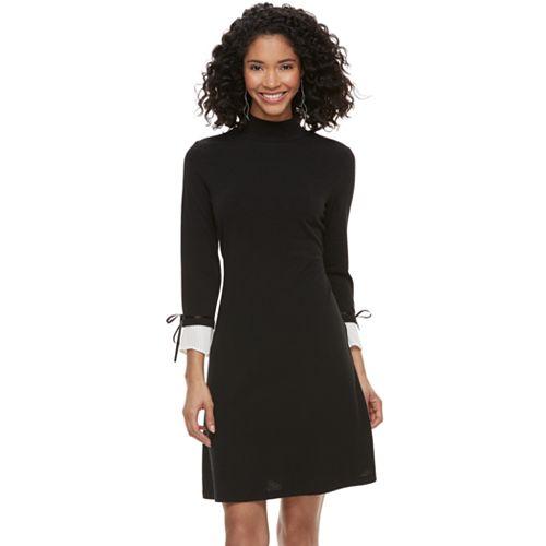 Women's ELLE™ Mock-Layer Sheath Dress