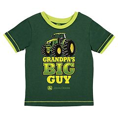 Baby Boy John Deere 'Grandpa's Big Guy' Tractor Graphic Tee
