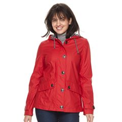 Women's Weathercast Hooded Rain Jacket