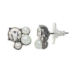 Simply Vera Vera Wang Cluster Stud Earrings