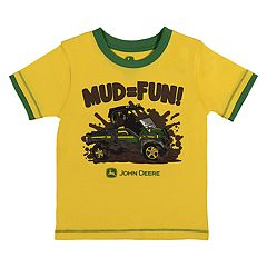Baby Boy John Deere 'Mud = Fun' Graphic Tee