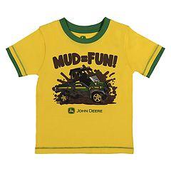 Baby Boy John Deere 'Mud = Fun' Graphic Tee