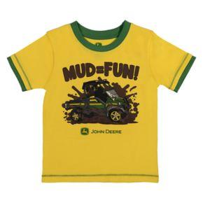 "Baby Boy John Deere ""Mud = Fun"" Graphic Tee"
