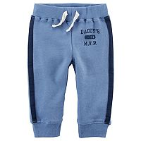 Baby Boy Carter's Striped French Terry Pants