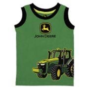 Baby Boy John Deere Tractor Tank Top