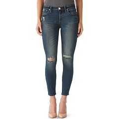Women's Rock & Republic® Berlin Ripped Ankle Skinny Jeans