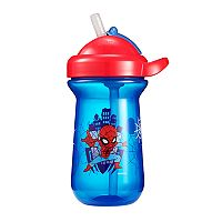 The First Years Marvel Spider-Man Flip-Top Straw Cup