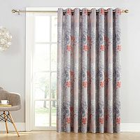Sun Zero Ashbury Room Darkening Patio Curtain