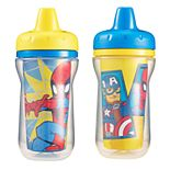 The First Years 2-pk. Marvel Spider-Man & Captain America Sippy Cups