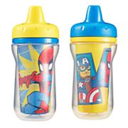 The First Years 2 pkMarvel Spider-Man & Captain America Sippy Cups