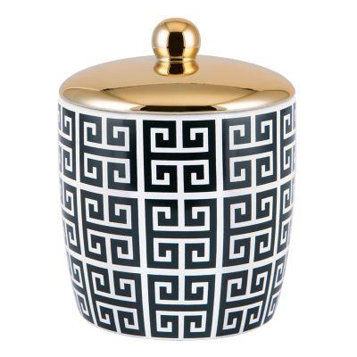 Allure Home Creations Derby Cotton Ball Jar