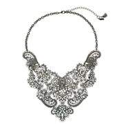 Simply Vera Vera Wang Filigree Statement Necklace