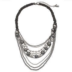 Simply Vera Vera Wang Layered Statement Necklace