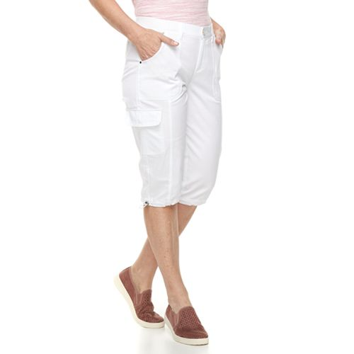 Women's Croft & Barrow® Utility Skimmer Shorts