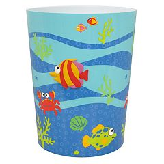 Allure Home Creations Fish Tails Wastebasket