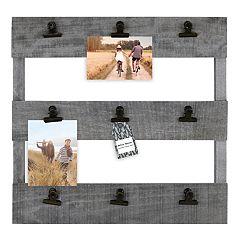 Belle Maison Pallet 9-Clip Collage Frame